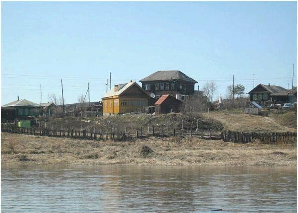 Деревня Трёка.