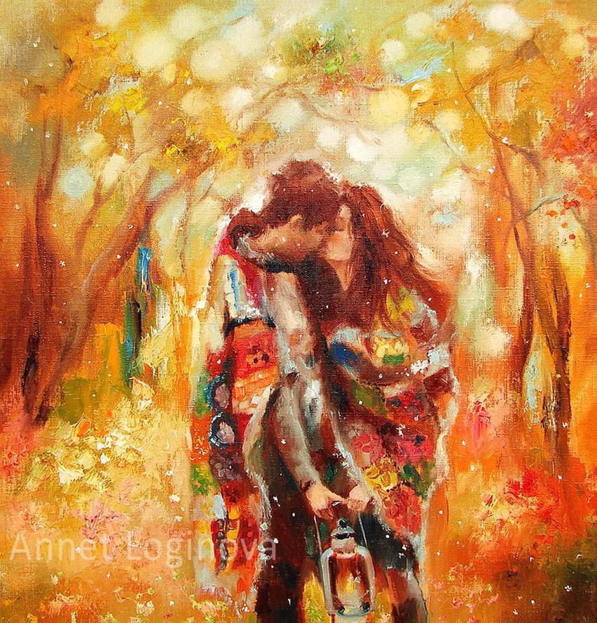 Художники современные рисунок влюбленных