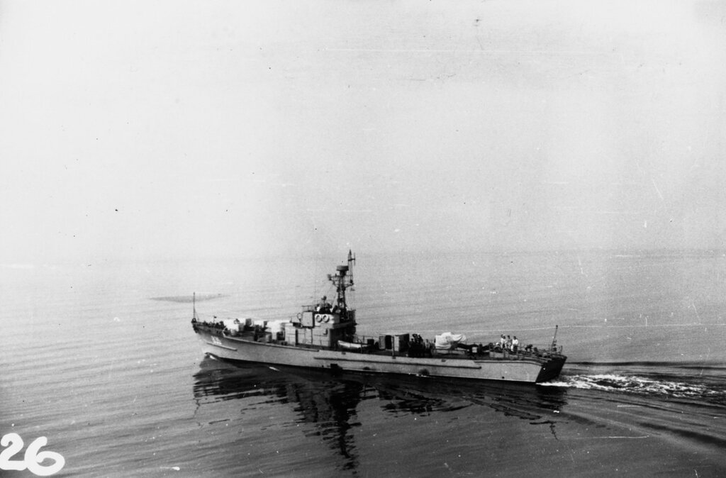 Soviet SO1 Class Submarine Chaser. Photographed in 1959.