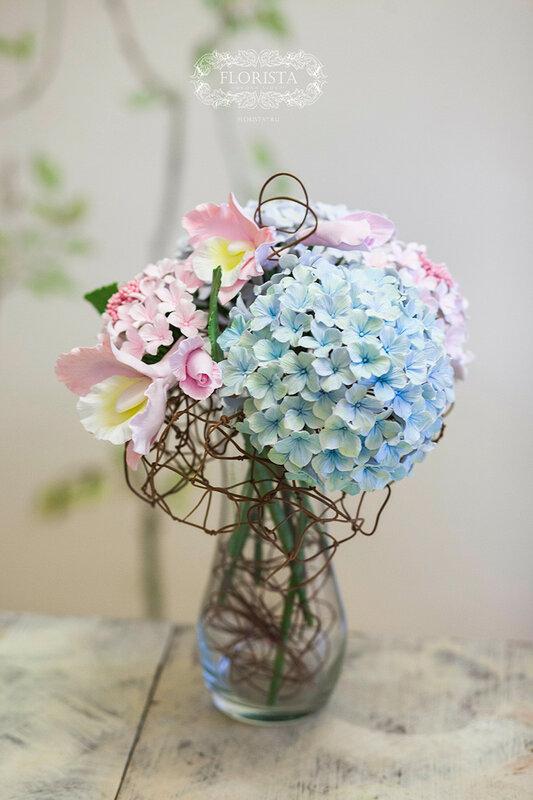 Большой букет цветов