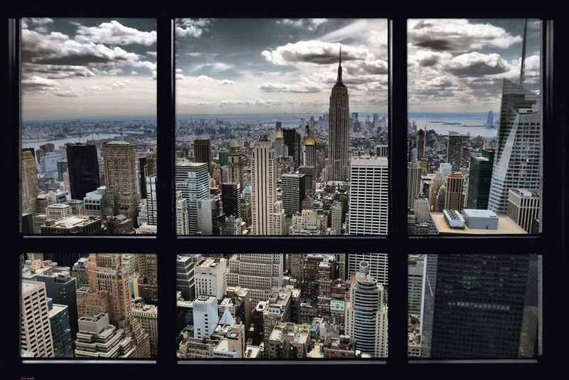 16. Постер «Нью-Йорк» Постер, который позволит каждый день любоваться видом Нью-Йорка.