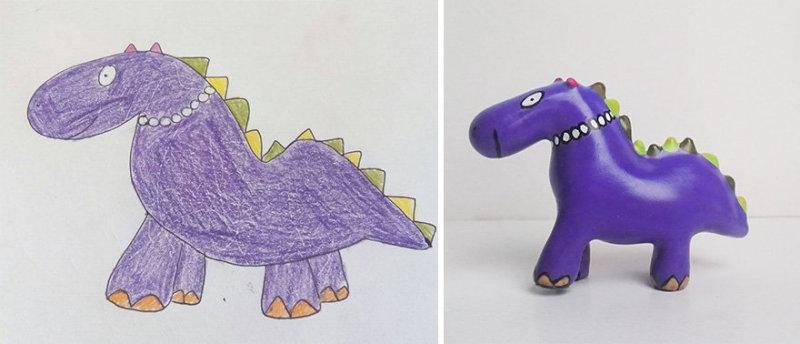 Детские рисунки, превратившиеся в игрушки с помощью 3D-принтера