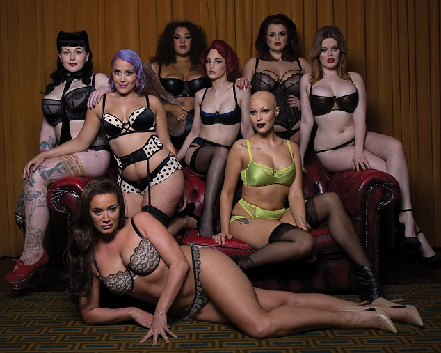 Секс по-новому: трансгендер и другие необычные женщины в рекламной кампании нижнего белья (4 фото)
