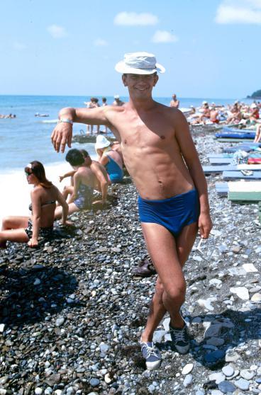 Советский пляж и искрометный юмор. Фото: Билл Эппридж.