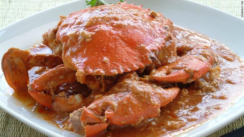 5. Лучшие блюда из морепродуктов. Самым вкусным и популярным блюдом в Сингапуре является краб чили.