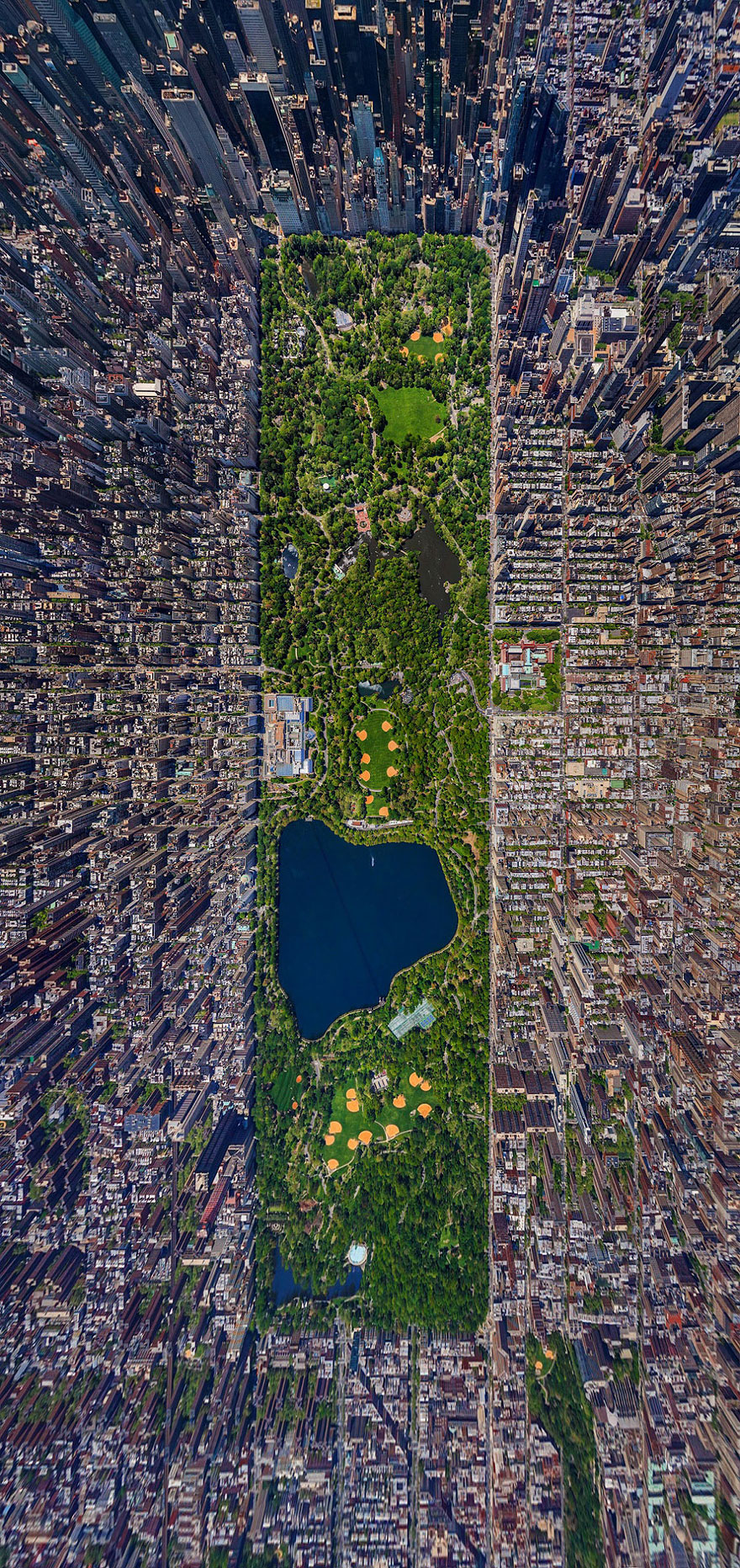 3. Центральный парк, Нью-Йорк, США