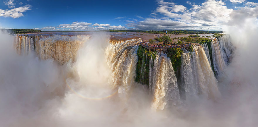 4. Игуасу Водопад, Аргентина и Бразилия