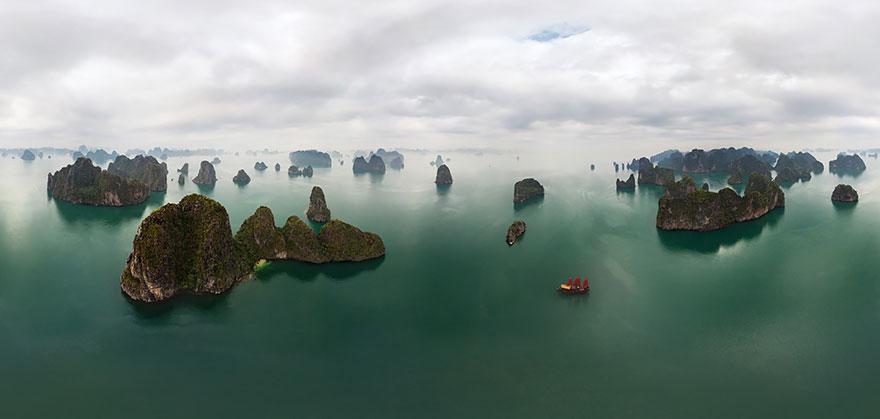 11. Залив Халонг, Вьетнам