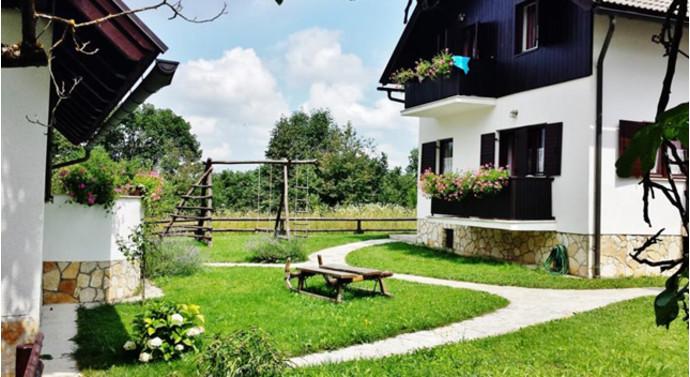 8. Etno Garden Apartments, Plitvica Selo, Хорватия В 400 метрах от озера Козяк, в национальном парке