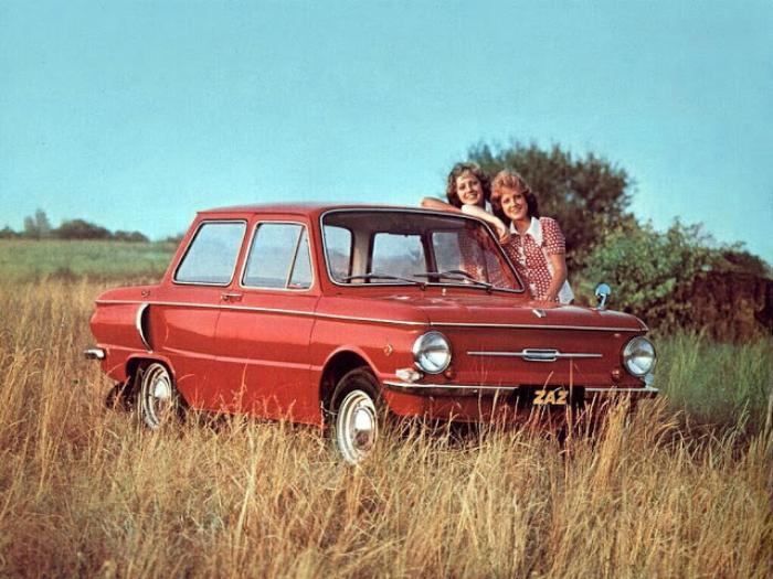 1. ЗАЗ-968 «Запорожец» Советский автомобиль под названием — ЗАЗ-968 «Запорожец», который изгот