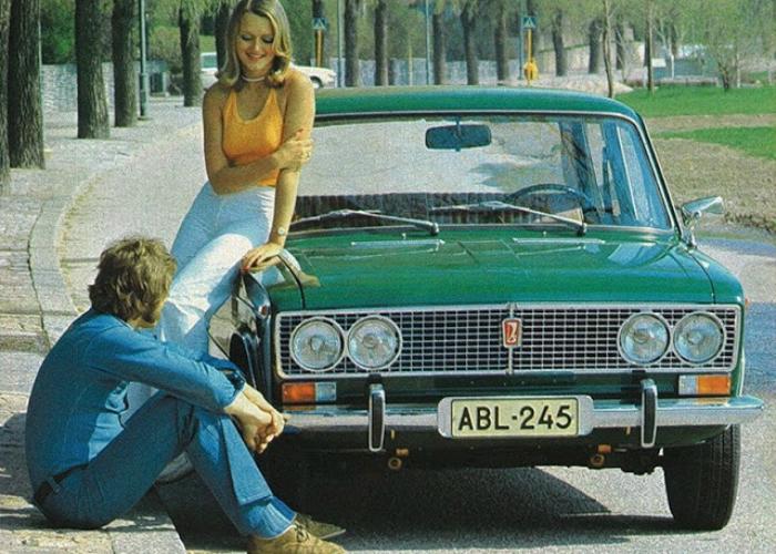 4. ВАЗ-2103 «Жигули» Советский легковой седан под названием ВАЗ-2103 «Жигули», который был создан на