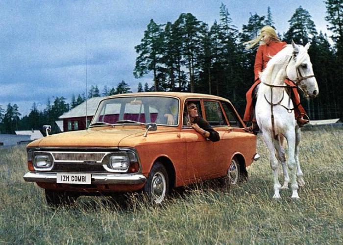 6. Иж-2125 «Ко?мби» Советский лифтбэк под названием — Иж-2125 «Комби», выпускавшийся в период