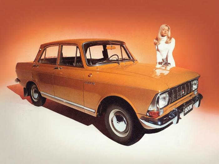 7. Москвич-412 Советско российский седан под названием — Москвич-412, который выпускался в пер