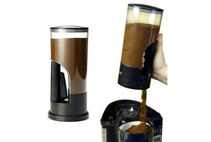 6. Порционная кофемолка Кофемолка, которая в одно нажатие выпускает ровно одну ложку молотого кофе.