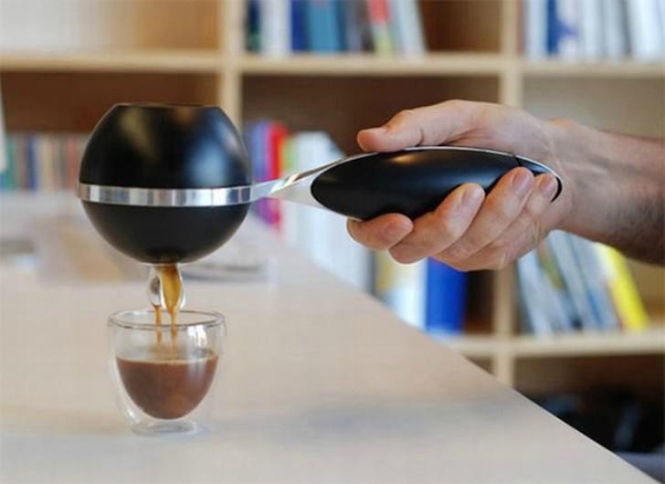 12. Портативная кофеварка Портативная ручная беспроводная кофеварка для людей, которые не мыслят сво