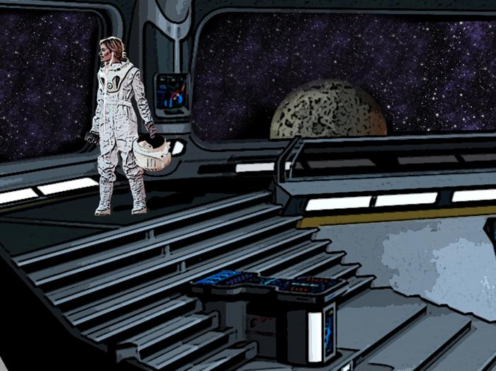 Последний пассаж, как водится, эстетический. Во время долгого перелета на Марс астронавтов ждут часы