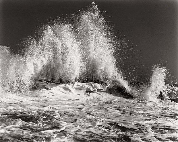 Волна после шторма.