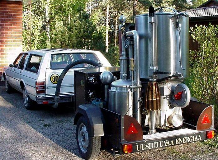 Автомобили на дровяном топливе