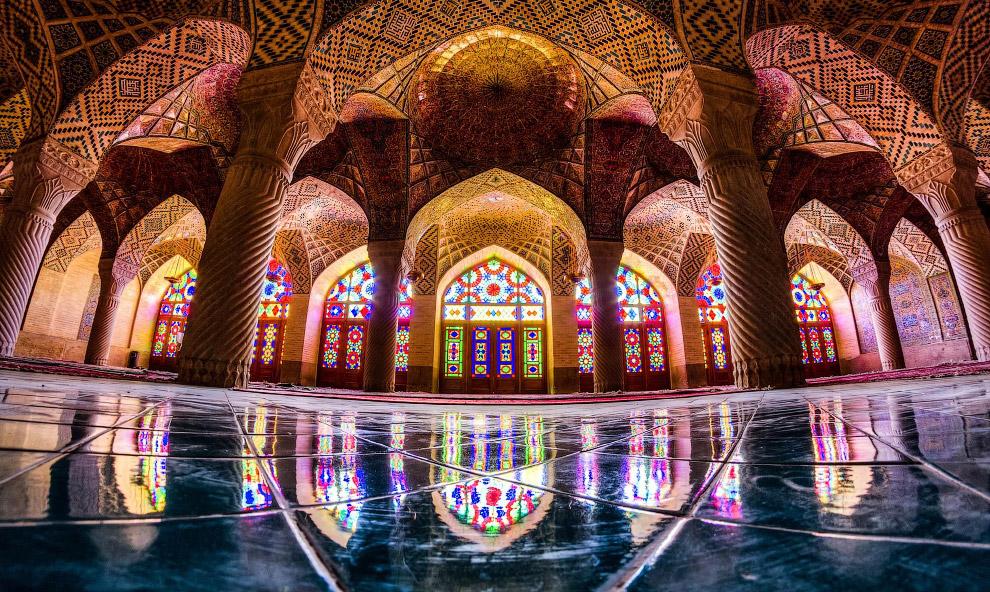 21. Qavam House. Удивительное место и красивый музей. Сад 19 века в Ширазе. Это традиционный до