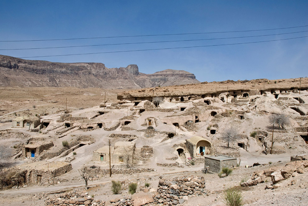 24. Деревня Кандован, расположенная между Тебризом и городом Оску в Иране. Она известна своими