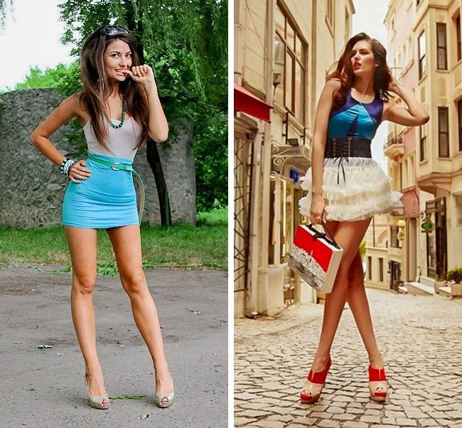 Нравятся девушки в коротких юбках