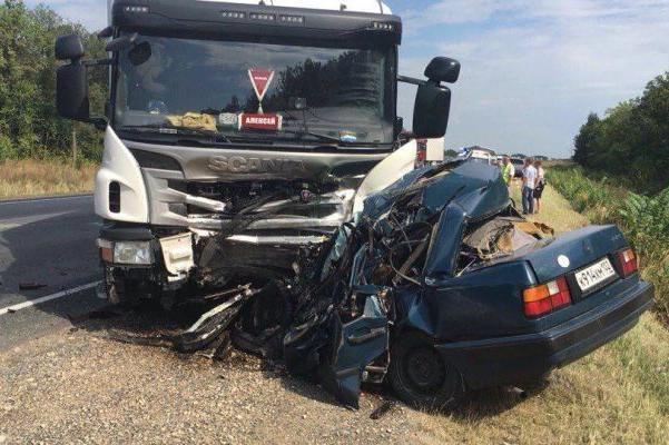 ВТатарстане вДТП натрассе погибли 5 человек