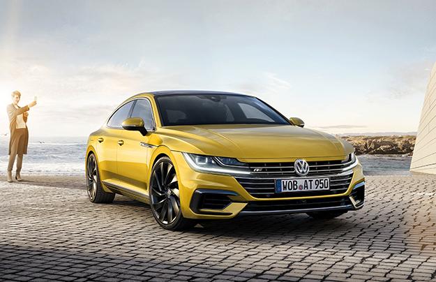 VW представил купеобразный седан Arteon