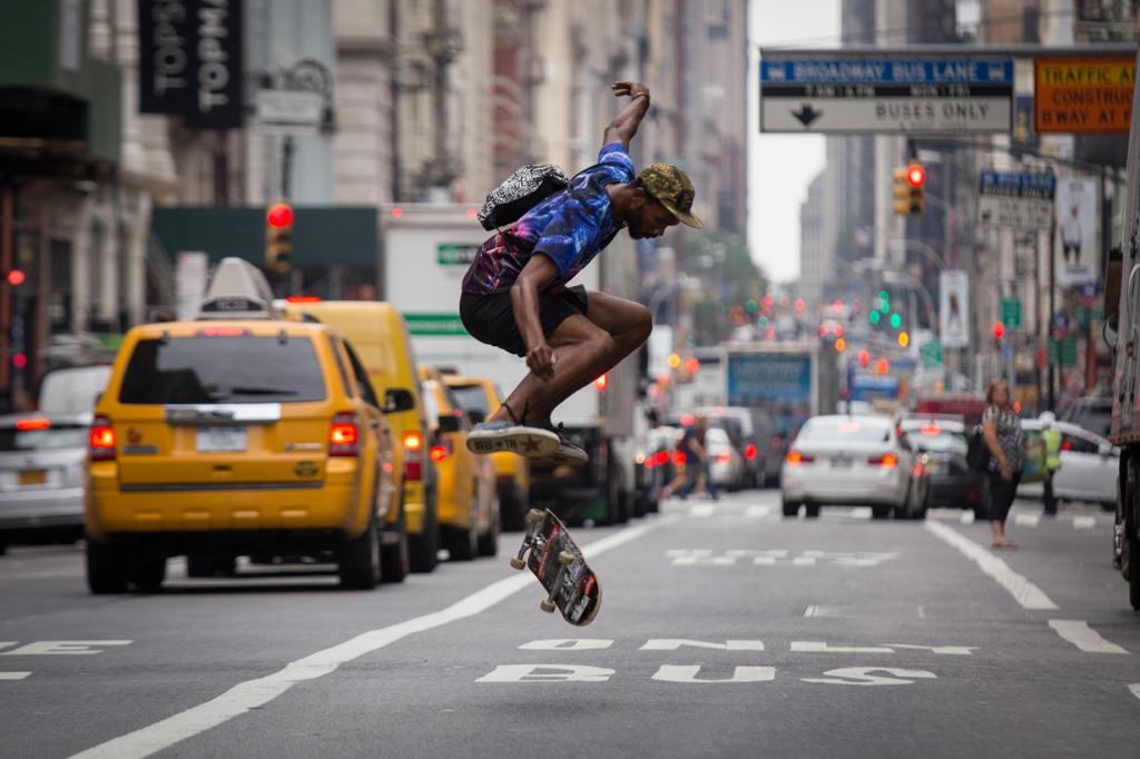 США. Нью-Йорк. Бродвей. (Adrian Cabrero)