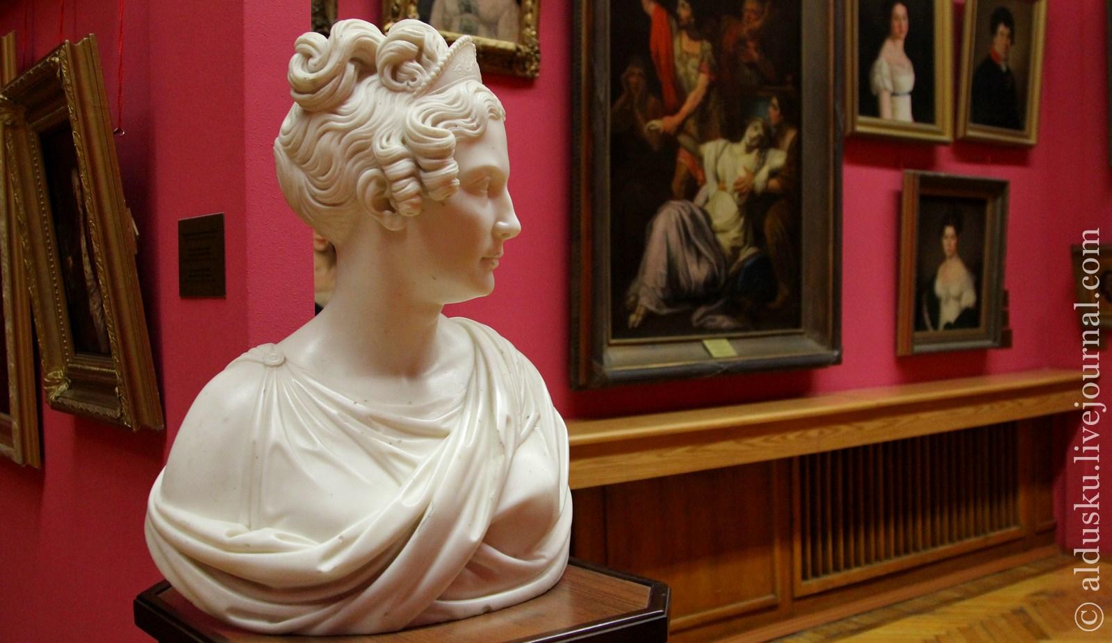 Раух К.–Д. (1777–1857) Императрица Александра Федоровна. Между 1840–1850. Мрамор