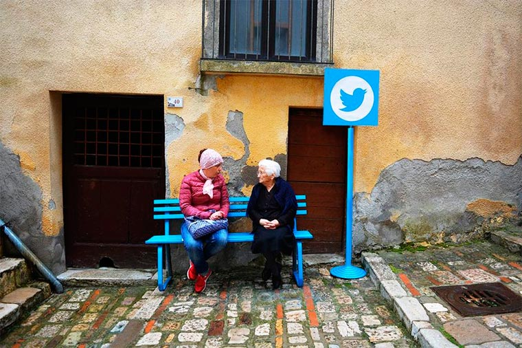 Internet In Real Life - When social networks come to life in a small village