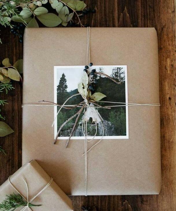 Подарочная упаковка с фотографией