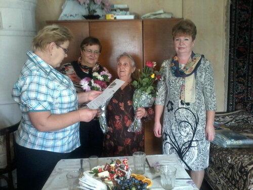 90 лет Жаровой Руфине Павловне