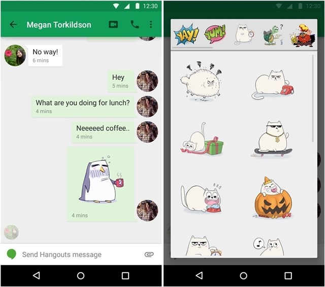 Hangouts для Android