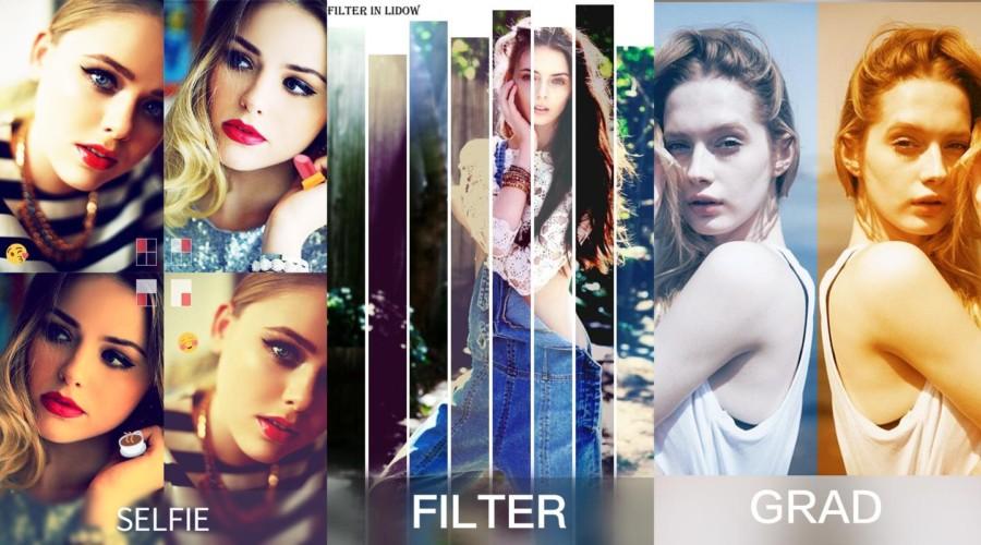 Photo Editor Lidow Snap pic   Отличные эффекты для фото Android