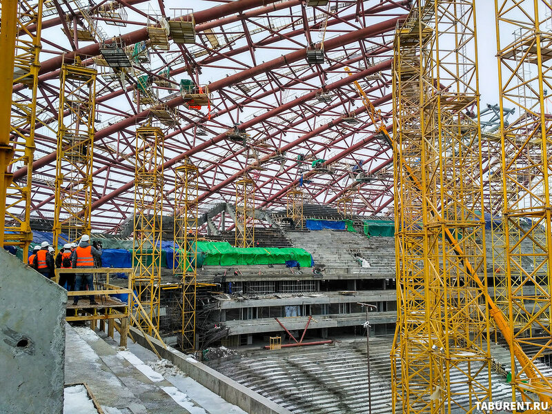 Самара-Арена. Март 2017