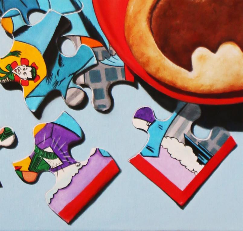 Realistic Pop Culture Paintings by K. Henderson