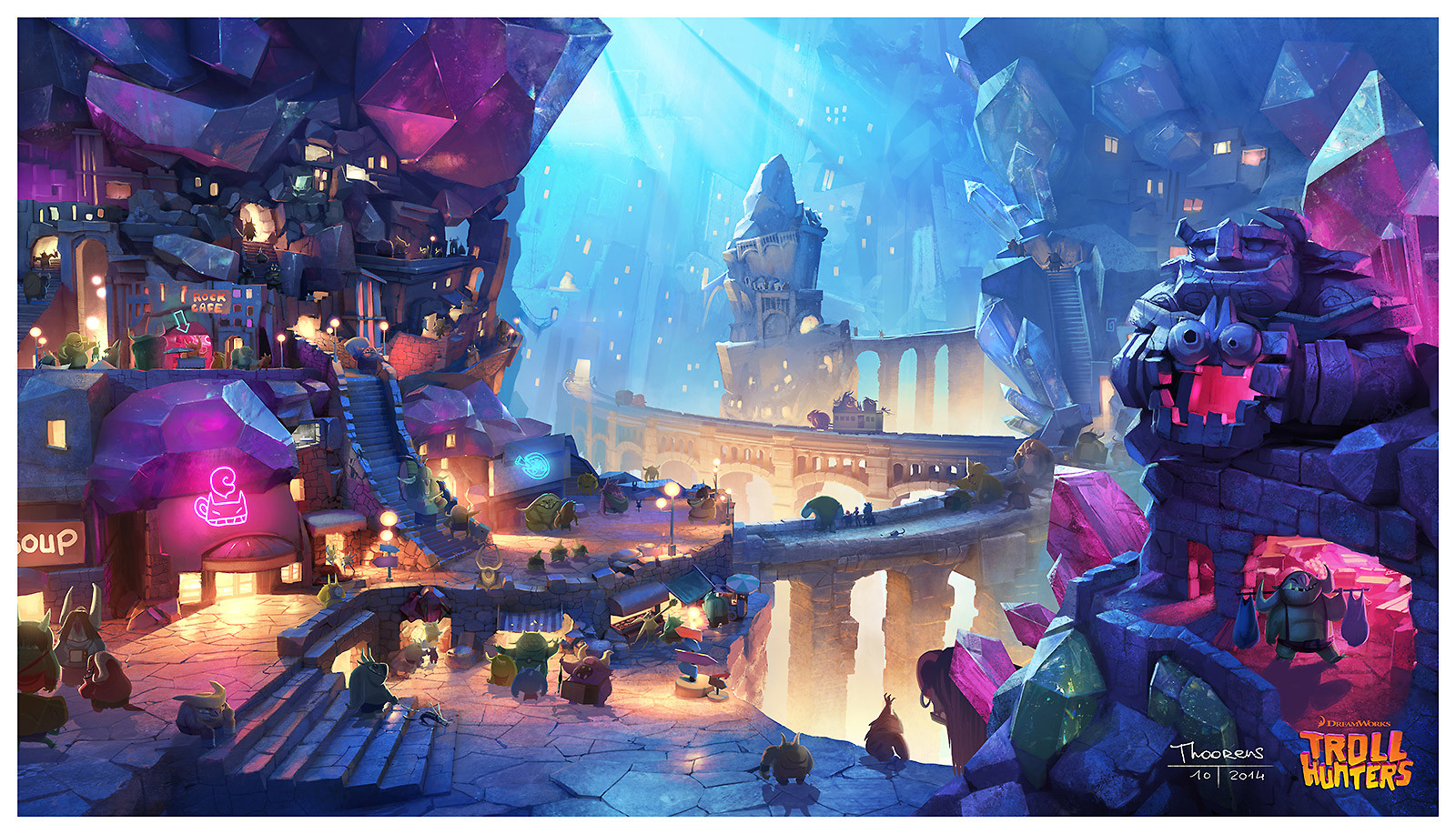 Trollhunters Concept Art by Geoffroy Thoorens (8 pics)