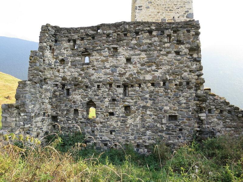 Жилая башня Эрзи, внутренние перекрытия