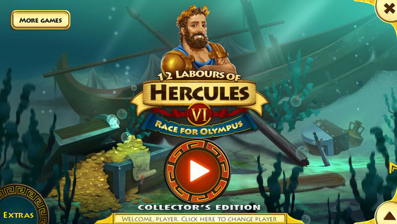 12 Labours of Hercules 6: Race for Olympus CE