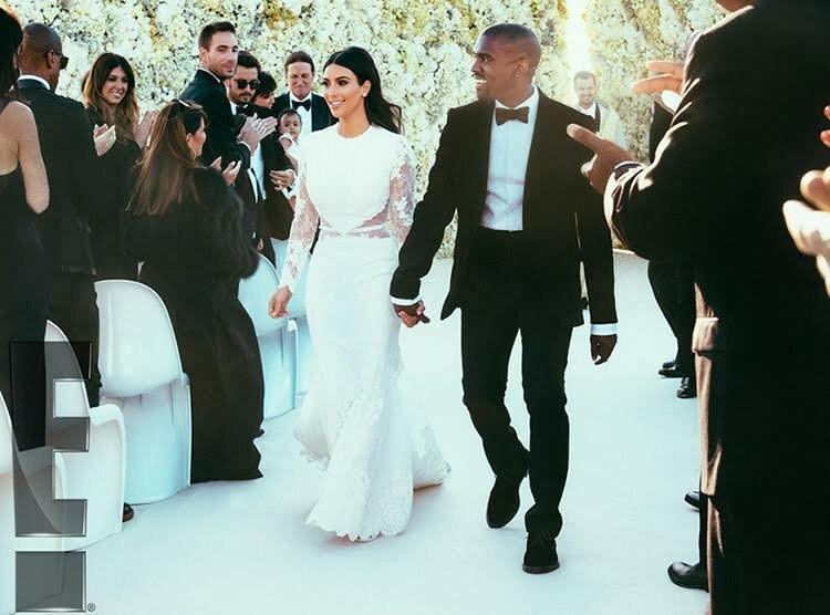 Самые невероятные свадебные платья знаменитостей