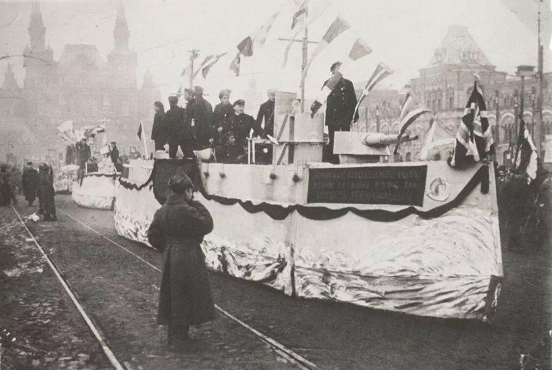 1920-е. Парад в честь конгресса Коминтерна