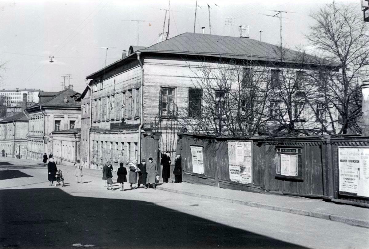 1963. Берников переулок, дом 9