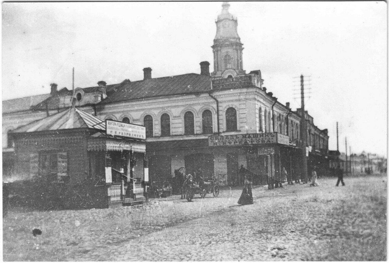 Крестовая улица около Красной Площади