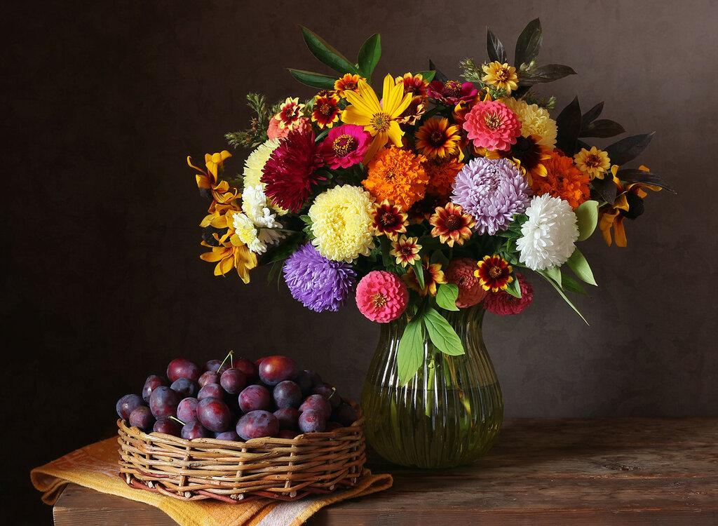 Осенний букет, он особого цвета