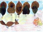 """Миронова Татьяна (рук. Шутьева Наталья Александровна) - """"Золотая осень в лесу"""""""