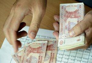 В Молдове уменьшается реальная заработная плата