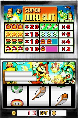 Nintendo Super Mario Slot
