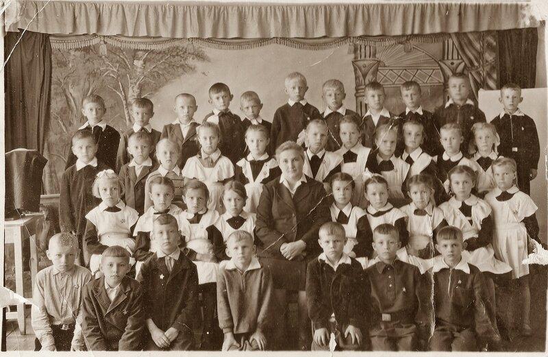 Школа.1962 год.