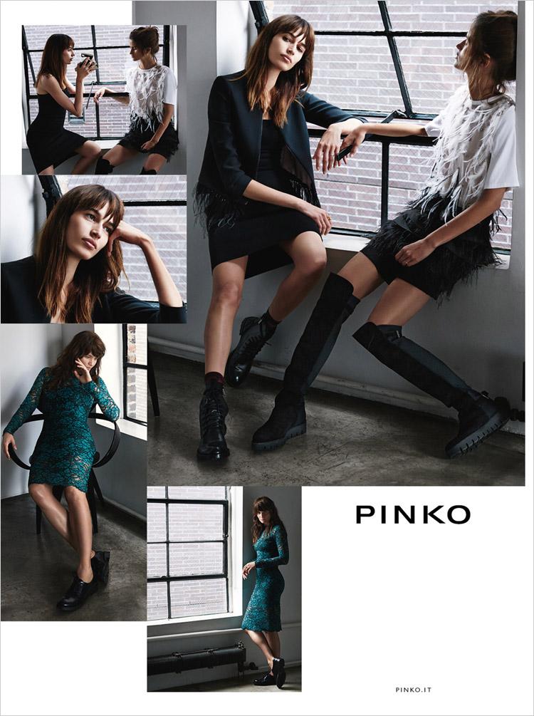 Хелена Кристенсен (Helena Christensen) для Pinko