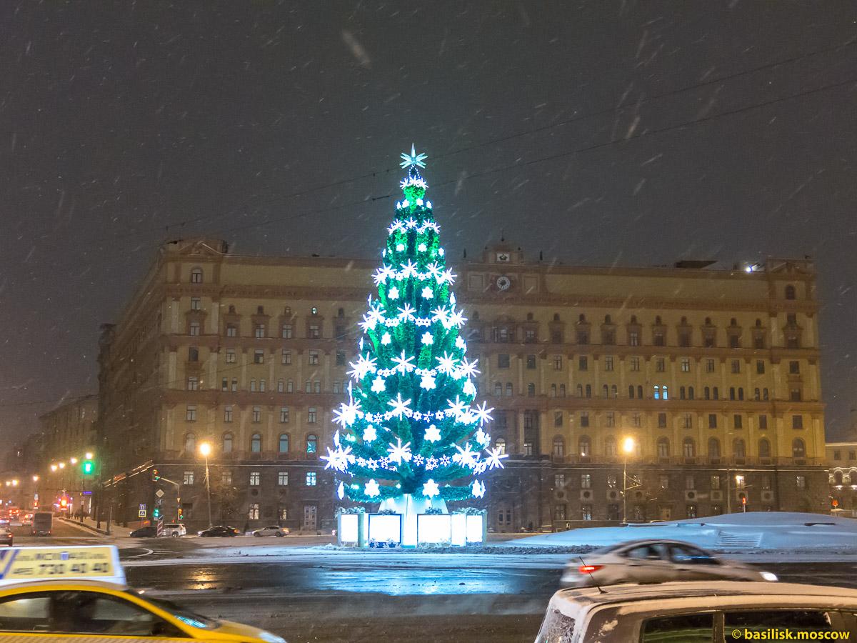 Новогодняя Москва. 9 января 2016.